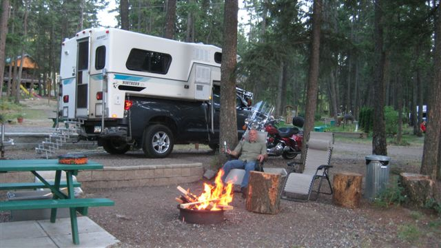 Pinegrove Campground Camper