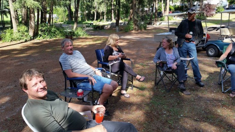 Pinegrove campground Father's Day
